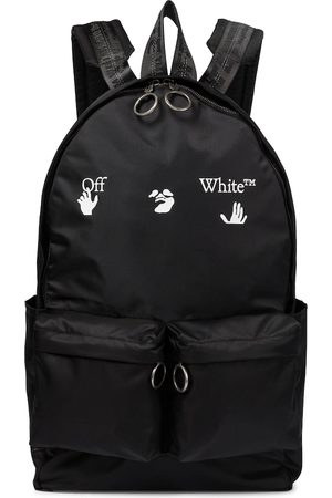 OFF-WHITE Logo nylon backpack