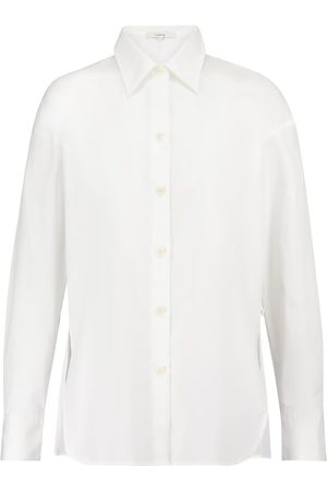 Vince Convertible cotton-poplin shirt
