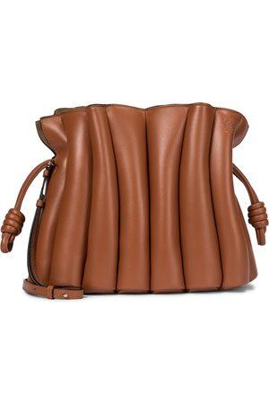 Loewe Flamenco Ondas leather clutch