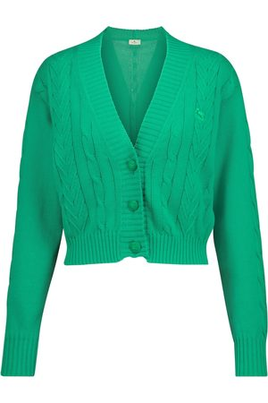 Etro Cropped cotton cardigan