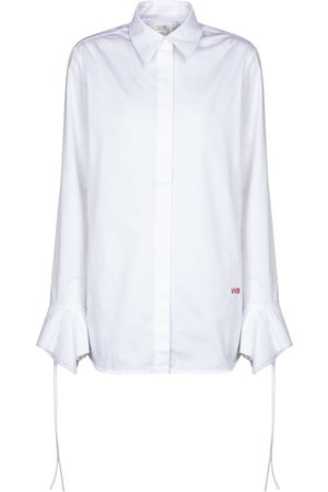 Victoria Victoria Beckham Women Long sleeves - Cotton-poplin shirt