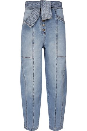 ULLA JOHNSON Otto high-rise straight jeans