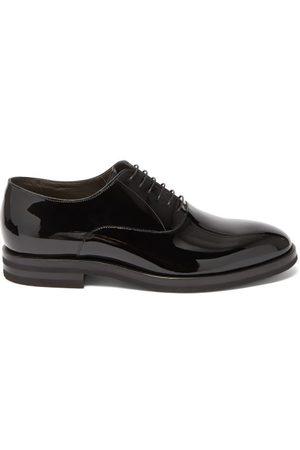 Brunello Cucinelli Patent-leather Oxford Shoes - Mens