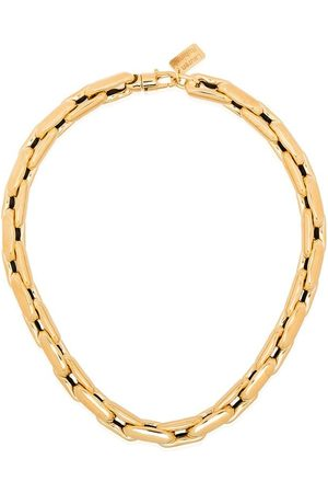 Lauren Rubinski Women Necklaces - 14kt medium square link chain necklace