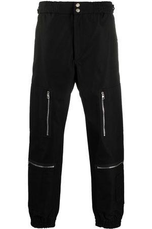 Alexander McQueen Men Straight Leg Pants - Multi-pocket cuffed trousers