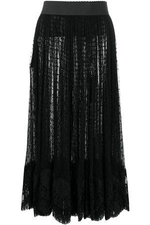 Dolce & Gabbana Fil-coupé midi skirt