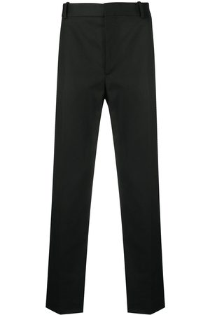 Alexander McQueen Straight-cut tailored trousers