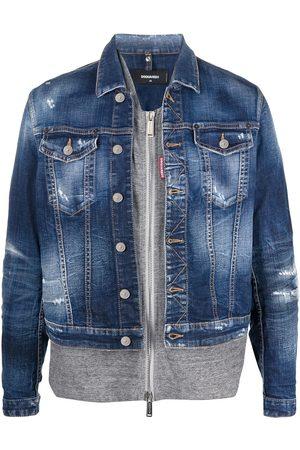 Dsquared2 Double-layer denim jacket