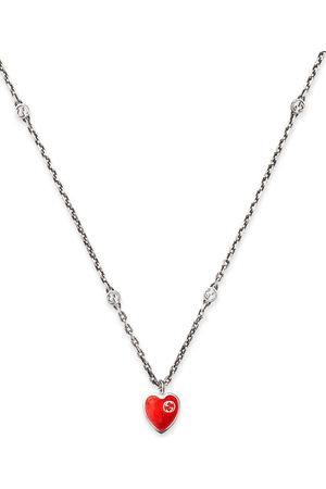 adidas Interlocking G heart pendant necklace