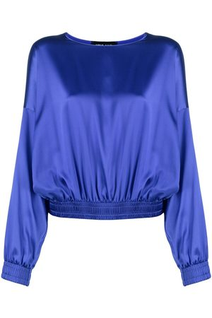 Styland Women Blouses - Pullover silk blouse