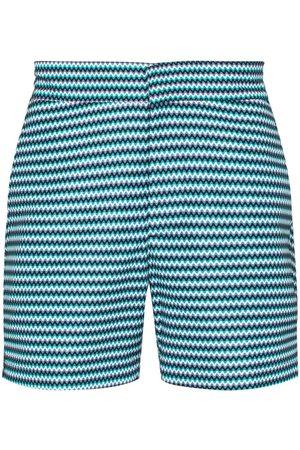 Frescobol Carioca Copacabana chevron stripe swim shorts