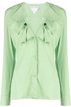 Bottega Veneta Ruffle collar blouse