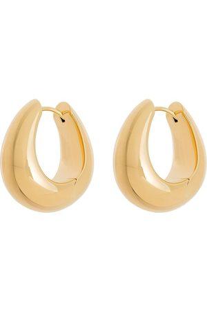 TOM WOOD Ice medium hoop earrings