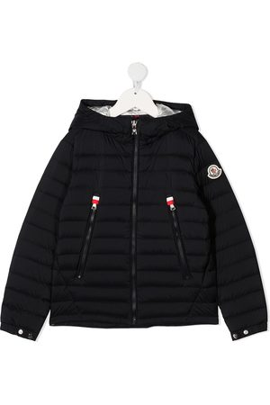 Moncler Boys Puffer Jackets - Hooded padded jacket