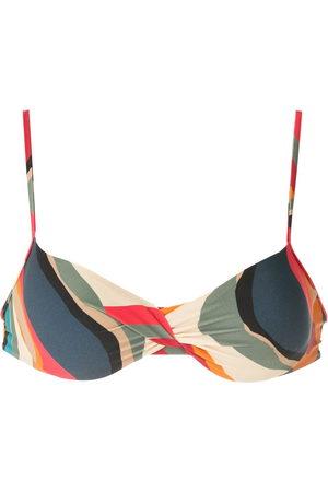 Lygia & Nanny Cassis printed bikini top - Multicolour