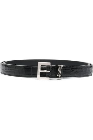 Saint Laurent Monogram buckle belt