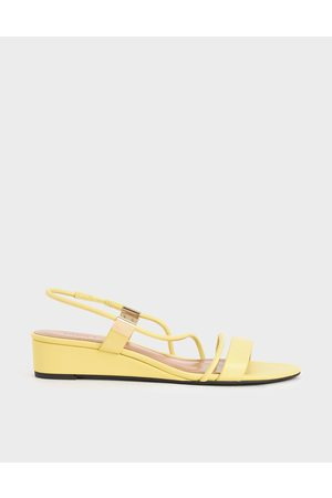 CHARLES & KEITH Women Wedges - Strappy Slingback Wedges