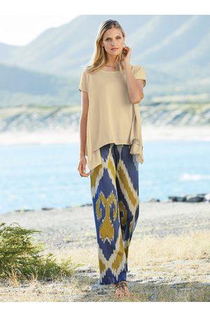 Peruvian Connection Women Wide Leg Pants - Bar Harbor Pima Cotton Trousers