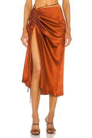 Nicholas Lia Skirt in Rust.