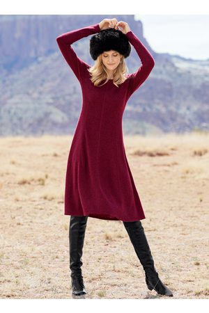 Peruvian Connection Women Casual Dresses - Emma Royal Alpaca Dress