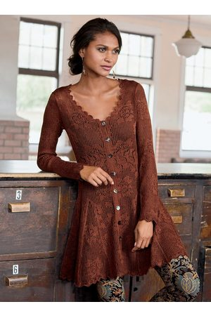 Peruvian Connection Women Tunic Dresses - Gamine Pima Cotton Tunic-Dress