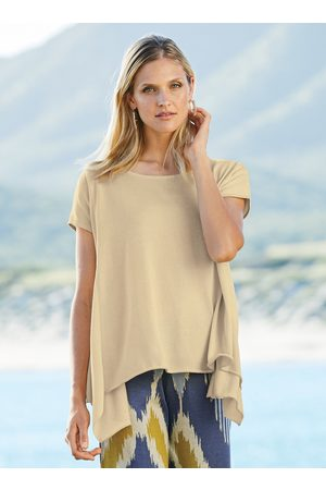 Peruvian Connection Seamed Pima Cotton Swing Top