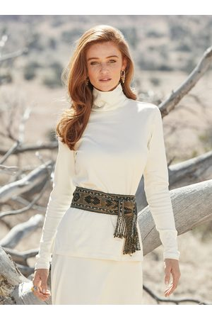 Peruvian Connection Women High Necks - Classic Pima Cotton Turtleneck