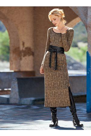 Peruvian Connection Python Pima Cotton Dress
