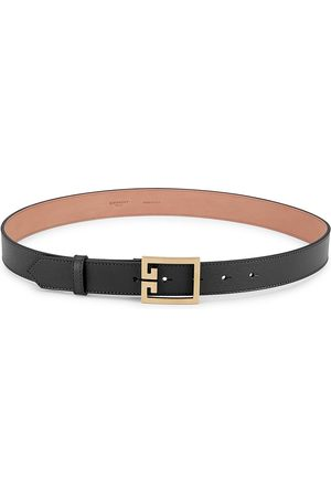 Givenchy Women's GV3 Leather Belt - - Size 80 (S)