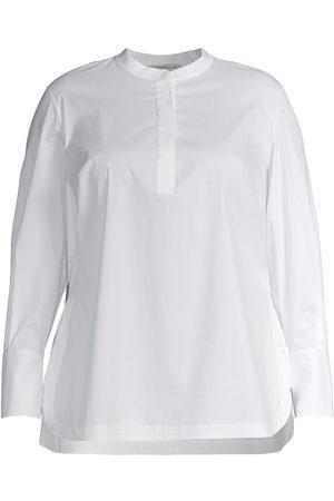 Lafayette 148 New York Women's Axler Tunic Shirt - - Size 2X (18-20)