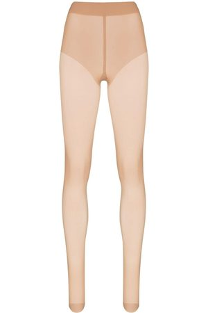 Wolford Women Stockings - Neutral Pure 10 tights - Neutrals