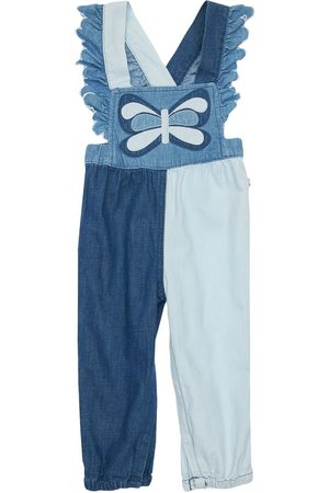 Stella McCartney Cotton Jumpsuit W/butterfly Patch