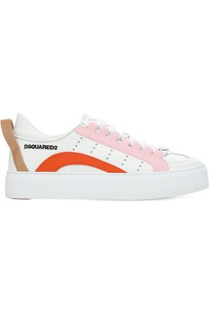 Dsquared2 30mm 551 Leather & Rubber Sneakers