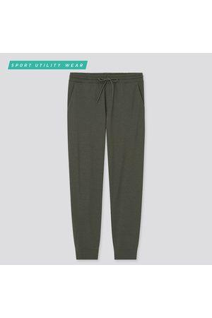UNIQLO Men Stretch Pants - Men's Ultra Stretch Active Jogger Pants, Green, XS