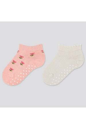 UNIQLO Baby Socks (Set Of 2), Orange, 9-12cm