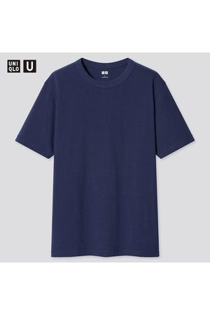 UNIQLO Men's U Crew Neck Short-Sleeve T-Shirt, , XXS