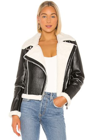 superdown Genna Zip Up Jacket in .