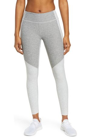 Outdoor Voices Women's Two-Tone Warmup Crop Leggings
