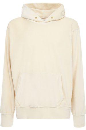 Les Tien Women Hoodies - Cropped Cotton Sweatshirt Hoodie
