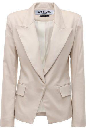 Acheval Pampa Gardel Cotton Satin Jacket