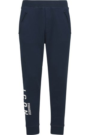 Dsquared2 Dean Fit Icon Printed Jersey Sweatpants