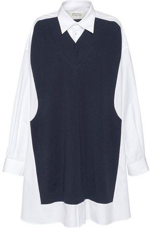 Maison Margiela Cotton Long Shirt Dress