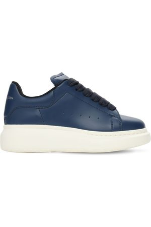 Alexander McQueen Leather Lace-up Sneakers