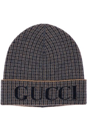 Gucci Logo Wool Knit Beanie