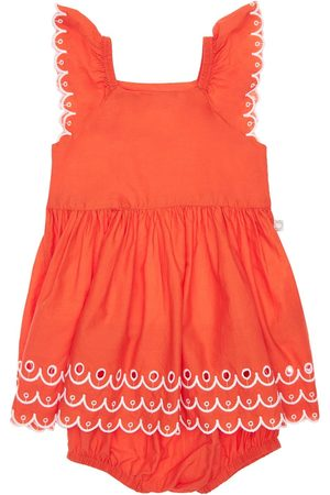 Stella McCartney Organic Cotton Dress & Diaper Cover