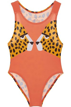 Stella McCartney Cheetah Recycled One Piece Swimsuit