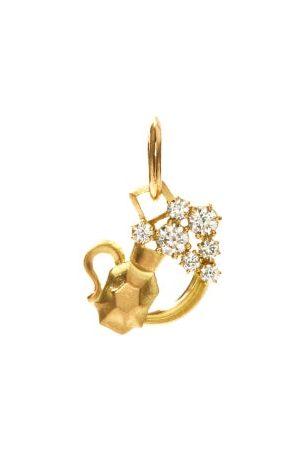 Jade Trau Aquarius Diamond & 18kt Zodiac Charm - Womens