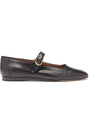 Le Monde Beryl Leather Mary Jane Ballet Flats - Womens