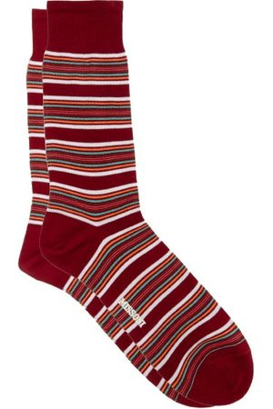 Missoni Men Socks - Striped Cotton-blend Socks - Mens - Multi