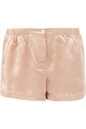 Araks Tia Silk-satin Pyjama Shorts - Womens